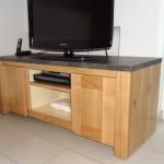 création d'un meuble TV sur mesure