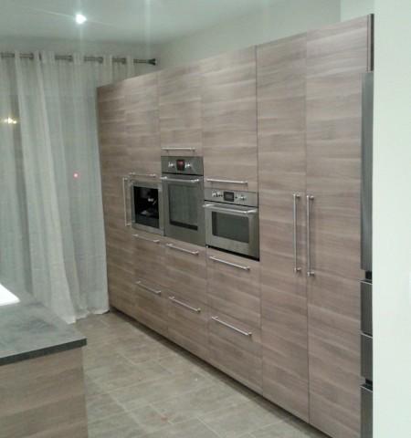 Pose d'une cuisine à Lyon
