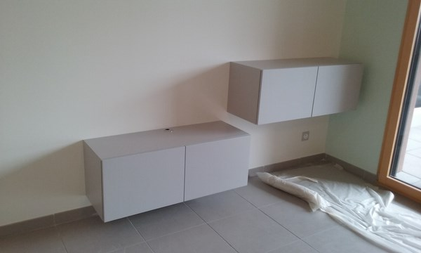 cr ation d une commode et d un meuble tv sur mesure lc creation mobilier. Black Bedroom Furniture Sets. Home Design Ideas