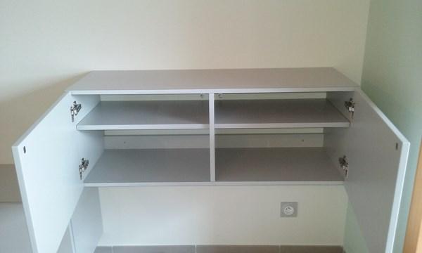Cr ation d une commode et d un meuble tv sur mesure lc - Commode meuble tv ...
